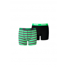 Bóxer Puma Basic Boxer Printed verde junior
