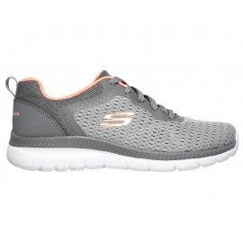 Zapatillas Skechers Bountiful-Quick Path gris mujer