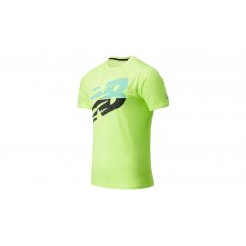 Camiseta New Balance Printed Accelerate lima hombre