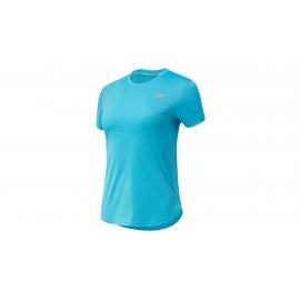 Camiseta Running New Balance Accelerate turquesa mujer