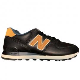 Zapatillas New Balance ML574OMD negro/marrón hombre