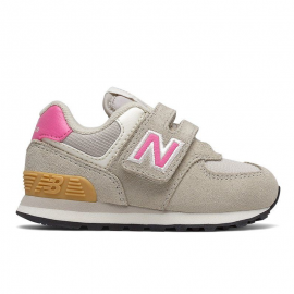 Zapatillas New Balance IV574ME2 gris/rosa bebé