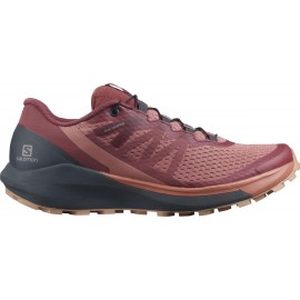 Zapatillas trail running Salomon Sense Ride 4  burdeos mujer