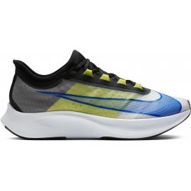 Zapatillas Nike Zoom Fly 3 blanco/azul/amarillo hombre
