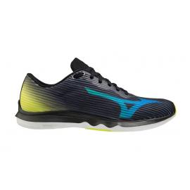 Zapatillas running Mizuno Wave Shadow 4 negro/azul hombre