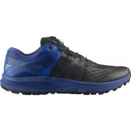 Zapatillas trail running Salomon Ultra Pro negro/azul hombre