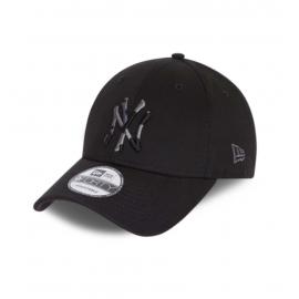 Gorra New Era Camo Infill 9Forty NY Yankees negro
