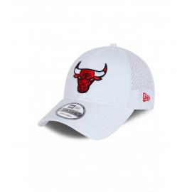 Gorra New Era Team Arch 9Forty Bulls blanco