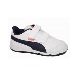Zapatillas Puma Stepfleex 2 SL VE V blanco azul junior
