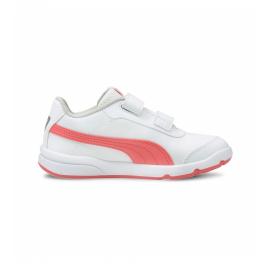 Zapatillas Puma Stepfleex 2 SL VE V blanco rojo junior