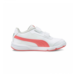 Zapatillas Puma Stepfleex 2 SL VE V blanco rojo bebé
