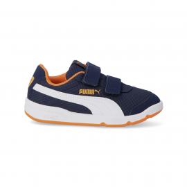 Zapatillas Puma Stepfleex 2 Mesh VE azul blanco junior