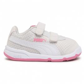 Zapatillas Puma Stepfleex 2 Mesh VE blanco rosa bebé