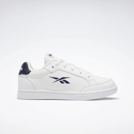 Zapatillas Reebok Royal Vector blanco azul junior