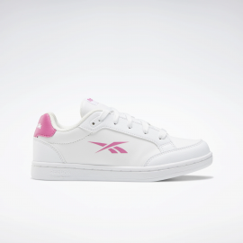 Zapatillas Reebok Royal Vector blanco rosa junior