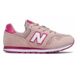 Zapatillas New Balance YC373SPW rosa junior