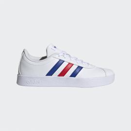 Zapatillas adidas VL Court 2.0 blanco azul rojo junior