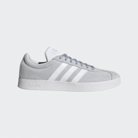 Zapatillas adidas VL Court 2.0 gris blanco mujer