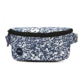 Riñonera Mi-Pac Slim Bum Bag U azul blanco