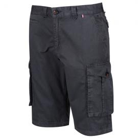 Pantalon corto senderismo Regatta Shorebay gris hombre