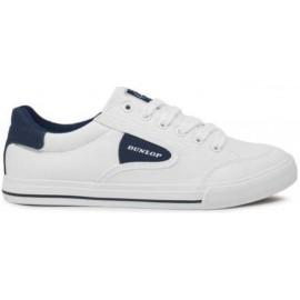 Zapatillas lona Dunlop 35717 blanco marino hombre