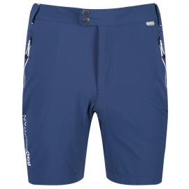 Pantalos senderismo Mountain Regatta azul hombre