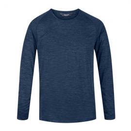 Camiseta M/L outdoor  Burlow Regatta marino  hombre