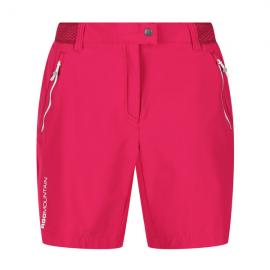 Pantalon corto outdoor Mountain Regatta fucsia mujer