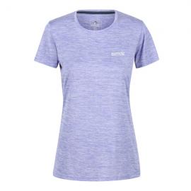 Camiseta outdoor Fingal Regatta lila mujer