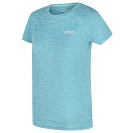 Camiseta outdoor Fingal Regatta turquesa mujer