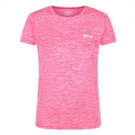 Camiseta outdoor Fingal Regatta rosa mujer