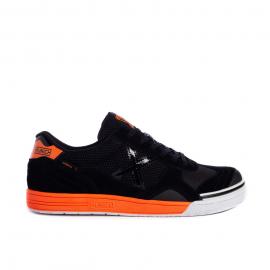 Zapatillas Munich Gresca 292 negro naranja hombre