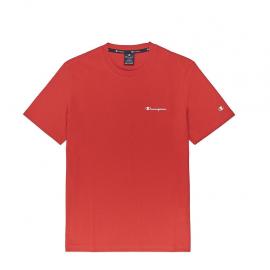 Camiseta Champion Cuello caja 214153 rojo hombre