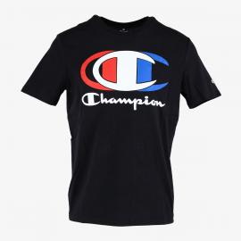 Camiseta Champion Cuello caja 214309 negro hombre