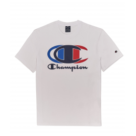 Camiseta manga corta Champion 214309 blanco hombre