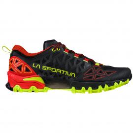 Zapatillas trail running La Sportiva Bushido II negro hombre