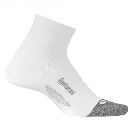 Calcetín Feetures Light Cushion Quarter blanco