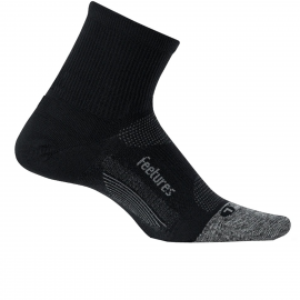 Calcetín Feetures Ultra Light Cushion Quarter negro