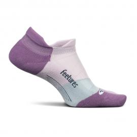 Calcetín Feetures Light Cushion No Show Tab púrpura