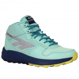 Botas travel Hi-Tec Sierra Re Flex Trail Mid verde mujer