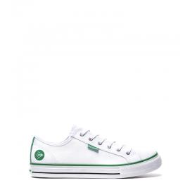 Zapatillas Dunlop 35554 blanco verde unisex