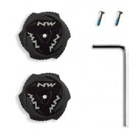 Cierre Milimetrico Northwave SLW2 kit Knobs negro