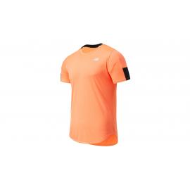 Camiseta Running New Balance Fast Flight naranja hombre