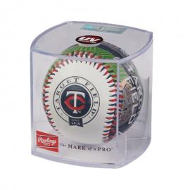 Pelota de beisbol Rawlings Team Logo Minesota Twins