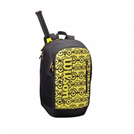 Mochila tenis Wilson Minions Tour Backpack amarillo negro