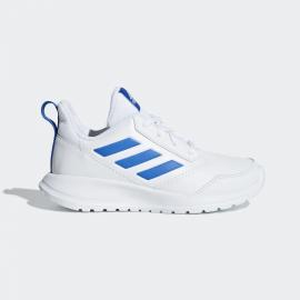 Zapatillas adidas AltaRun K blanco/azul junior