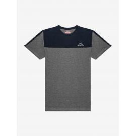 Camiseta Kappa Itap gris azul hombre
