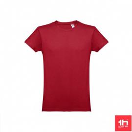 Camiseta THC Luanda burdeos unisex