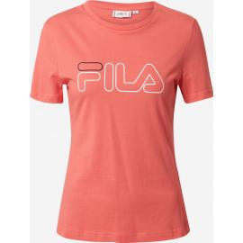 Camiseta manga corta Fila Ladan coral mujer