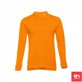 Polo TH Clothes Bern naranja hombre